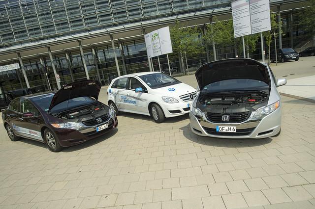 Energy saving cars on display