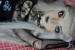 Drop down sexy ;P (Mientsje) Tags: cute tattoo ball doll dolls skin gothic goth horns sd chun bjd normal custom rs abjd ophelia lithium jointed resinsoul
