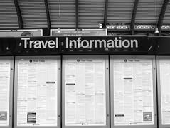 Travel Information (the Magnificent Octopus) Tags: york station sign design br rail signage british alphabet