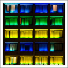 Athens / Athen (drasphotography) Tags: windows architecture modern night hotel nikon european nightshot nacht fenster curtain athens greece architektur colourful griechenland nachtaufnahme athen colourcontrast d7k nikond7000 drasphotography