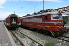 Vidin - 45.159, local train Mezdra - Vidin (lyura183) Tags: station train railway bulgaria vidin koda bdz       bd