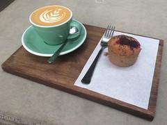 Coffee Love 2 (clavel9) Tags: white coffee caf flat bun filmbase
