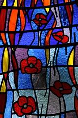 Friesthorpe, St Peter's Memorial window detail (Jules & Jenny) Tags: lincolnshire stainedglasswindow lincs friesthorpe