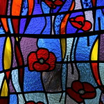 Friesthorpe, St Peter's Memorial window detail thumbnail