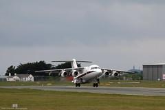 RAF BAe 146-100 CC.2 ZE701 at Isle of Man EGNS 26/05/16 (IOM Aviation Photography) Tags: man ba isle raf cc2 ze701 egns 146100 260516