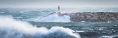 Gale force (michaelmelachrinidis) Tags: sea storm waves windy gale breakwater