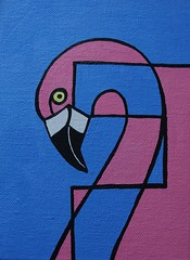 F is for Flamingo (Empress of Blandings) Tags: pink blue color bird eye birds neck bill colorful acrylic colours head pastel wildlife flamingo letters beak blues f alphabet lettering colourful paleblue acrylicpainting acrylics pinks acrylicpaint doodling alphabets letterf canvasboard alphabetart doodlepainting alphabetpainting birddoodle birdalphabet letterdoodle alphabetdoodle doodlecalligraphy alphabetdoodles birdletter