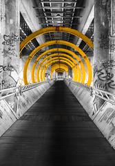 Brcke (Steirer_Fritz) Tags: grafiti sony architektur alpha muster 6000 farben bogen brcken donauinsel geometrisch