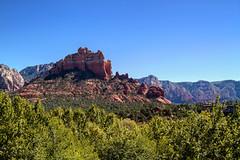 Cathedral Rock (wegstudio) Tags: wood arizona mountains landscape outdoor sedona cathedralrock montaas