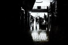 invasion of the shopper snatchers (Lamson Noswen (c'lamson)) Tags: blackandwhite contrast mall shopping mono fairfax ricoh shoppers lamson northernvirginia clickingwheel