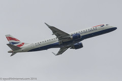 G-LCYW - 2008  build Embraer 190-100SR, delivery flight routing Tenerife South - Manchester - Warsaw (egcc) Tags: man manchester ba britishairways lightroom embraer baw ringway cfe egcc emb190 embraer190 bacityflyer hbjqe 190100sr pppjj 19000163 glcyw