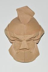 Rikishi (sin cynic) Tags: sculpture art japanese origami theater mask theatre noh kraft papercraft rikishi tomokofuse gigaku