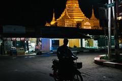 Kalaw, Myanmar (seokjun_yun) Tags: road night burma streetphotography motorbike myanmar kalaw