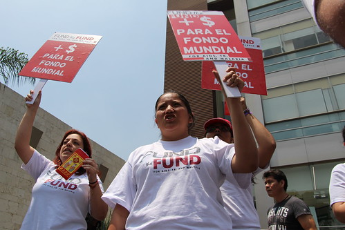 Fund the Fund Mobilizations June 13 – AHF Mexico