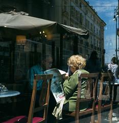 (Brunella Pastore) Tags: street torino riflessi caff