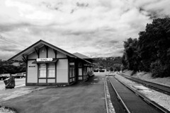 Sunol Station (zimwizdotcom) Tags: california station train tracks valley railroadtracks sunol transcontinental railraod nilesvalley