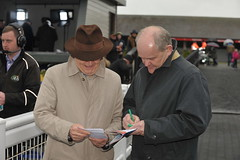 Dick O'Sullivan and David Mongey literally counting the stats for the five day festival (ballymorebugle) Tags: ballymorebugleballymoreeustace kildare ireland