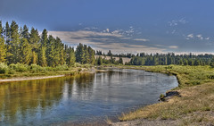 Madison_Morning-Q1607n (Guyser1) Tags: river landscape yellowstone hdr yellowstonepark madisonriver canoneos40d