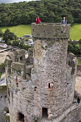 20160616-UK Trip-Conwy Castle-0036 (kuminiac) Tags: 2016 wales conwy castle conwy castle towers dungeons tower dungeon fortress town walls royal royals king edward i longshanks medieval snowdonia cymru knights scenery uk united kingdom