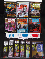 Star Wars ESB - IDW Micro Comic Set (2016) (WishItWas1984) Tags: set movie poster starwars 3d comic mini retro collection micro esb collectible complete 3dglasses empirestrikesback minicomic adaption 2016 theempirestrikesback idw microcomic
