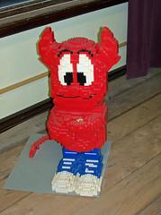 OH Bellaire - Toy & Plastic Brick Museum 102 (scottamus) Tags: ohio sculpture statue lego display exhibit bellaire belmontcounty toyplasticbrickmuseum