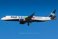 PR-AZH (rcspotting) Tags: azul de 15 rodrigo embraer planespotting spotter passageiros e190 avgeek milhes prazh cozzato rcspotting