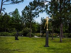 Sculpture garden-13 (uxbobham) Tags: sculpture art neworleans archer sculpturegarden