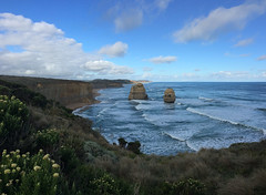 Twelve Apostles (EmC_Russell) Tags: ocean park travel sea port coast rocks australia victoria formation shipwreck national limestone coastline campbell twelve apostles