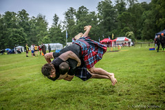 Flying Wrestlers (FotoFling Scotland) Tags: male scotland kilt argyll event wrestler lochlomond highlandgames kilted luss paulcraig scottishwrestlingbond wrestlingbond lusshighlandgames maxfreyne lusshighlandgathering