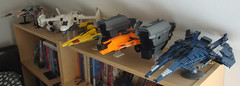 All the things (Jayfourke) Tags: lego space destiny jumpship spaceship