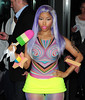 Nicki Minaj leaving her hotel London, England