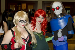 Evil Doers (_Codename_) Tags: calgary costume published expo cosplay alberta batman comicon poisonivy harleyquinn 2012 mrfreeze comicentertainment