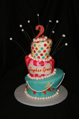 "topsy turvy circus cake • <a style=""font-size:0.8em;"" href=""http://www.flickr.com/photos/60584691@N02/7021475349/"" target=""_blank"">View on Flickr</a>"