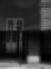 Schlo Schnbrunn -- half-masked -- Potemkin Facade (hedbavny) Tags: light shadow architecture mask sightseeing baustelle architektur scaffold shroud tor renovation schwarzweiss verpackung schatten tr shrouded tourismus packed gitter residenz maske bildimbild schleier restauration sehenswrdigkeit gerst restaurierung schnbrunnpalace denkmalschutz vergittert eingepackt fotoimfoto buidlingsite verschleiert maskiert potemkinschesdorf eingerstet schlosschnbrunn halbmaske potemkinfacade blackandwhiteviennasterreichaustriawien