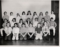 Elementary School Class 1966 (musicmuse_ca) Tags: bw 15fav me 1966 classpicture ethicalcultureschool