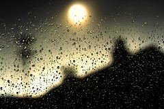 tears in heaven (Wackelaugen) Tags: light bw sun white haven black color art silhouette canon germany photography eos photo blackwhite drops europe tears jesus drop droplet bible scripture 500d renningen