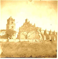 Church of Paoay, Ilocos Norte, possibly 1899 (ioculus) Tags: laoag paoay ilocosnorte ilocandia northernluzon philippineamericanwar spanishamericanwar oldphilippines philippinerevolution oldphotographs spanishcolonialera spanishera philippinehistory filipinoheritage ilocano
