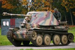 German Tank Destroyer (lizgould123) Tags: tank military restored reenactors marderiii tankdestroyer pickering2009 germanmardertankkiller