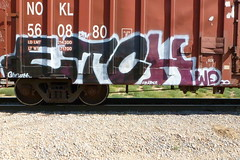 ETCH (QsySue) Tags: railroad digital train lumix graffiti tag traintracks panasonic traincar pointandshoot digitalcamera wd etch railroadtracks railroadcar inlandempire sanbernardinocounty digitalpointandshoot panasoniclumixdmczs8 etchwd