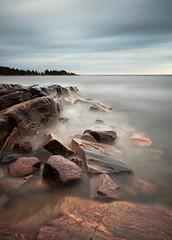 Red rocks - Hammar sydspets (- David Olsson -) Tags: longexposure lake seascape nature water clouds landscape nikon rocks cloudy sweden stones may sigma windy cliffs le 1020mm 1020 vnern 2012 dx hammar vrmland ndfilter lakescape smoothwater smoothsky orangerocks d5000 takene davidolsson hammarsydspets nd500 lightcraftworkshop 2exposuremanualblend