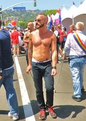 LAPride12 244 (danimaniacs) Tags: shirtless man hot sexy pecs nipple bare chest hunk torso lapride12