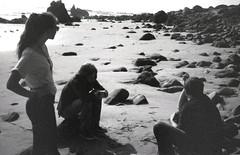 La Piedra, January 2012 (Jason Lester Photography) Tags: california ca blackandwhite bw film beach 35mm trix malibu coastline westcoast fujidiscovery thomaspereira lapiedrastatebeach emibell aronchilewich