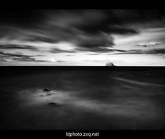 Bass Rock - North Berwick (ldfoto) Tags: ocean sea wild cloud lighthouse seascape island coast scotland nikon rocks edinburgh long exposure scottish wave forth lorenzo nd northberwick gannets firth bassrock ndfilter dalberto nd110 110nd110filter