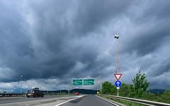 Highway (happy.apple) Tags: cars clouds highway traffic slovenia ljubljana slovenija promet oblaki avtocesta
