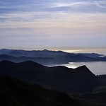 Heure bleue sur le golfe de St Florent thumbnail