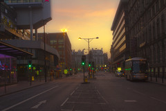 Portland Street towards Piccadilly, Manchester (0-1-6-1) Tags: manchester portlandstreet manchestercitycentre piccadillybusstation