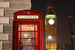 Just Big Ben, again (adz8916) Tags: street sky london westminster night nightshot bigben nightsky whitehall telephonebox londonnight londontelephonebox