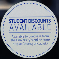 STUDENT DISCOUNTS AVAILABLE (Leo Reynolds) Tags: canon eos iso200 sticker 7d squaredcircle 250mm f67 0003sec hpexif sqyork xleol30x sqset078