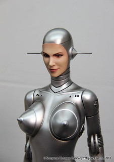 YAMATO - Fantasy Figure Gallery Sexy Robot 002 Human Face