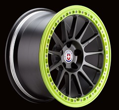 HRE RX43 - Beadlock (HRE Wheels) Tags: black green monster lock bead satin rhys rallycross hre millen rallyx beadlock rmr rx43